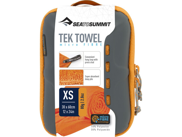Sea to Summit Tek Toalla XS, orange